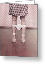 Underpants Greeting Card by Joana Kruse