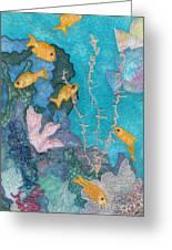 Underwater Splendor II Greeting Card by Denise Hoag