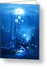 Underwater World Greeting Card by Svetlana Sewell