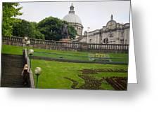 Union terrace gardens Aberdeen Greeting Card by Karen Kennedy