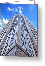 Up In The Sky Greeting Card by Kenneth Mucke
