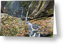 Upper Dark Hollow Falls in Shenandoah National Park Greeting Card by Pierre Leclerc Photography