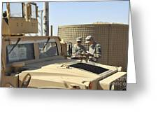 U.s. Army Soldiers Take Accountability Greeting Card by Stocktrek Images
