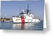 U.s. Coast Guard Cutter Uscgc Seneca Greeting Card by Stocktrek Images
