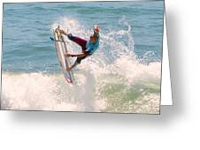 Us Open Of Surfing 2012   1 Greeting Card by Jason Waugh