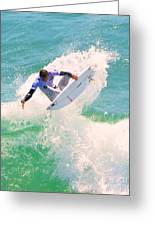 Us Open Of Surfing 2012    9 Greeting Card by Jason Waugh