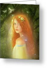 Utherworlds Lealinnia Greeting Card by Philip Straub