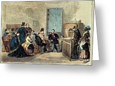 Va: Freedmens Bureau 1867 Greeting Card by Granger