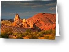 Valley Of Fire - Picturesque Desert Greeting Card by Christine Till