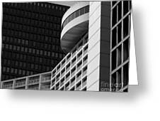 Vancouver Architecture Greeting Card by Chris Dutton