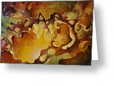 'vanishing Point' Greeting Card by Michael Lang