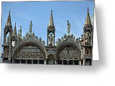 Venetian Architecture. Greeting Card by Terence Davis