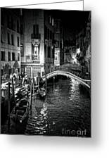 Venice Evening Greeting Card by Madeline Ellis