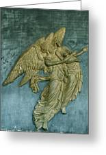 Venus And Jupiter Greeting Card by Wins Dieus