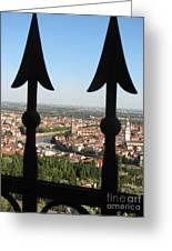 Verona- View Greeting Card by Italian Art