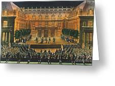 Versailles: Opera, 1676 Greeting Card by Granger
