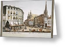 Vienna, 1779 Greeting Card by Granger
