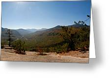 View from Frankenstein Cliff Greeting Card by Geoffrey Bolte