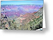 View From The South Rim Greeting Card by David Rizzo
