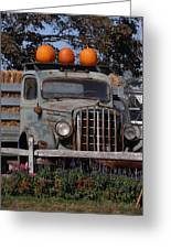 Vintage Harvest Greeting Card by Kimberly Perry