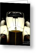 Vintage Packard Convertible  Greeting Card by Steven  Digman