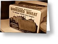 Vintage Wheat Greeting Card by David Lee Thompson