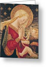 Virgin And Child  Greeting Card by Neri di Bicci