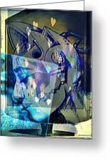 Virtual Kiss 1 Greeting Card by Paulo Zerbato