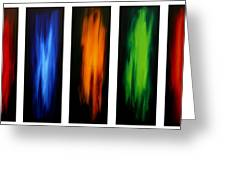 Visionary By Madart Greeting Card by Megan Duncanson