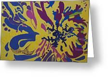 Vitality Nine Greeting Card by Amanacer Originals