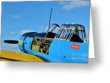 Vultee BT-13 Valiant  Greeting Card by Lynda Dawson-Youngclaus