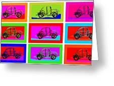 VW Beatle 1b Greeting Card by Mauro Celotti