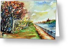 W 12 Moscow Greeting Card by Dogan Soysal