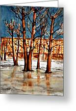 W 51 Moscow Greeting Card by Dogan Soysal