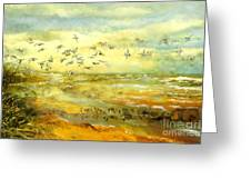 Wadden Sea Greeting Card by Anne Weirich