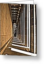 Walhalla Colonnade ... Greeting Card by Juergen Weiss