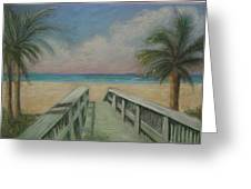 Walkover Greeting Card by Shirley Horwich