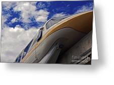 Walt Disney World - Monorail Yellow Greeting Card by AK Photography
