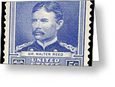 WALTER REED (1851-1902) Greeting Card by Granger
