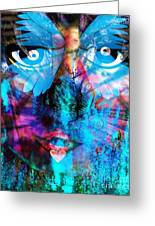 Wandering Thoughts - Untitled Desire Greeting Card by Fania Simon