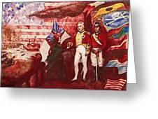 War Of 1812 Greeting Card by Dean Gleisberg