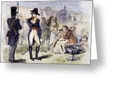 War Of 1812: Fort Detroit Greeting Card by Granger