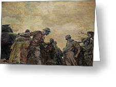 Wars Of America Greeting Card by Paul Ward