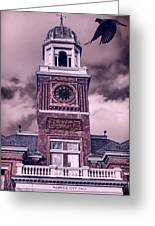 Warwick City Hall Greeting Card by Lourry Legarde