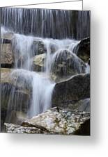Water And Rocks Greeting Card by Frank Tschakert