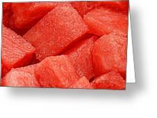 Watermelon Greeting Card by Chris Yarzab