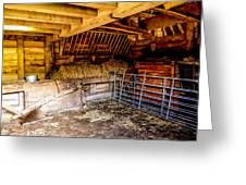 Watersfield Stable Greeting Card by Dawn OConnor