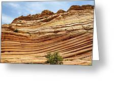 Wave Sculptured Sandstone Greeting Card by Scotts Scapes