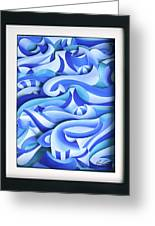 Waves 2 Greeting Card by Jason Amatangelo