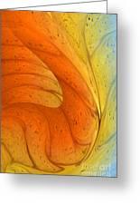 Waves Of Sanity Greeting Card by Deborah Benoit